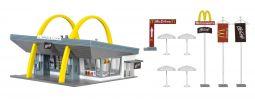 VOLLMER 43634 McDonald's mit McDrive | Bausatz Spur H0 online kaufen