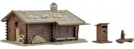 VOLLMER 43708 Jagdhütte mit Brunnen und Klo   Bausatz Spur H0 online kaufen