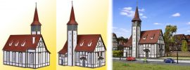 VOLLMER 43768 Fachwerkkirche Altbach Bausatz Spur H0 online kaufen