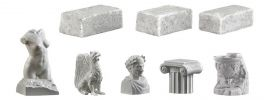 VOLLMER 48281 Dekoset Steinmetz 8 Teile Fertigmodell 1:87 online kaufen