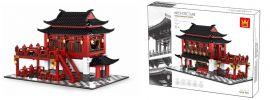 WANGE 6312 Chinesisches Hotel | Gebäude Baukasten online kaufen