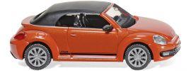 WIKING 002848 VW Beetle Cabrio orange   Automodell 1:87 online kaufen