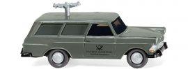 WIKING 007148 Opel Rekord '60 Caravan | Fernmeldedienst | Modellauto 1:87 online kaufen