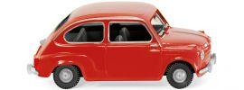 WIKING 009904 Fiat 600 rot | BJ 55 | Modellauto 1:87 online kaufen