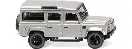 WIKING 010203 Land Rover Defender 110 silber-metallic | Modellauto 1:87 online kaufen