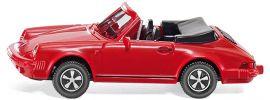 WIKING 016203 Porsche 911 SC Cabriolet rot | Automodell 1:87 online kaufen