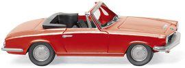 WIKING 018798 BMW 1600 GT Cabrio rot Automodell 1:87 online kaufen