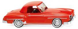 WIKING 025301 Mercedes Benz 190 SL Coupé verkehrsrot | Automodell 1:87 online kaufen