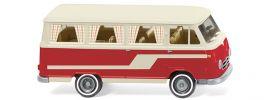 WIKING 027045 Borgward Campingbus B611 - perlweiß/rot | 1:87 online kaufen