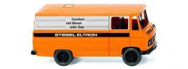 WIKING 027056 MB L 406 Kastenwagen | Stiebel Eltron | VEDES-MC | Modellauto 1:87 online kaufen