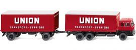 WIKING 045701 Kofferlastzug Hanomag Henschel | LKW-Modell 1:87 online kaufen
