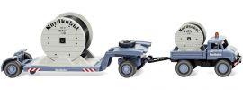 WIKING 050202 Unimog U406 Tiefladehängerzug | LKW-Modell 1:87 online kaufen