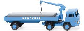 WIKING 050205 Magirus 135 D Baustoffwagen Klöckner | LKW-Modell 1:87 online kaufen