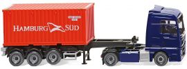 WIKING 052348 MAN TGX Containersattelzug Hamburg Süd | LKW-Modell 1:87 online kaufen