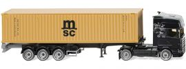 WIKING 052349 Containersattelzug NG Scania MSC LKW-Modell 1:87 online kaufen