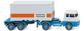 WIKING 052601 Henschel HS Containerszg Fruehauf | LKW-Modell 1:87 online kaufen