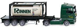 WIKING 053601 MAN TGX Tankcontainersattelzug Rinnen | LKW-Modell 1:87 online kaufen