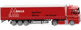 WIKING 053707 Gardinenplanensattelzug MAN TGX Euro 6 'Mäuler' LKW-Modell 1:87 online kaufen