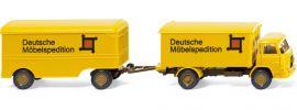 WIKING 054003 Möbelkofferlastzug MAN DMS '60 LKW-Modell 1:87 online kaufen