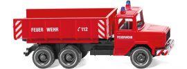 WIKING  062402 Feuerwehr - Schuttwagen Magirus Deutz Blaulichtmodell 1:87 online kaufen
