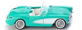 WIKING 081904 Chevrolet Corvette C1 türkis | Modellauto 1:87 online kaufen