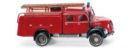 WIKING 086338 Magirus Rundhauber Tanklöschfahrzezg Feuerwehr Blaulichtmodell 1:87 online kaufen