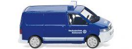 WIKING 093803 VW T5 GP Kastenwagen | THW | Modellauto 1:160 online kaufen