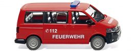 WIKING 060124 VW T5 GP Multivan Feuerwehr Blaulichtmodell 1:87 online kaufen