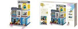 Zhe Gao QL0934 Sommer-Kaffeestube | Gebäude Baukasten online kaufen