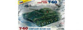 ZVEZDA 3508 Soviet Light Tank T-60 | Panzer Bausatz 1:35 online kaufen