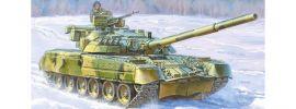 ZVEZDA 3591 Russischer Kampfpanzer T-80UD   Militär Bausatz 1:35 online kaufen