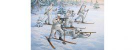 ZVEZDA 6199 Sovietische Skifahrer Figuren | Militär Bausatz 1:72 online kaufen