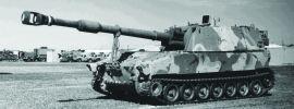 ZVEZDA 7422 US Self Propelled Gun M-109 | Militär Bausatz 1:100 online kaufen