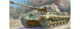 ZVEZDA 5023 Pz.Kpfw. VI Königstiger Henschel | Militär Bausatz 1:72 online kaufen