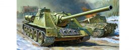ZVEZDA 5044 SU-100 Jagdpanzer | Militär Bausatz 1:72 online kaufen