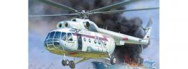 ZVEZDA 7254 MIL MI-8 Rescue Helicopter | Hubschrauber Bausatz 1:72 online kaufen