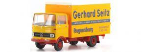 BREKINA 48548 Mercedes Benz LP 608 Koffer Gerhard Seitz | LKW-Modell 1:87 kaufen