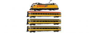 ARNOLD HN2499 4-tlg. Zugset E-Lok BR 386 mit Personenwagen Regiojet   analog   Spur N kaufen