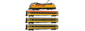 ARNOLD HN2499D 4-tlg. Zugset E-Lok BR 386 mit Personenwagen Regiojet   DCC   Spur N kaufen