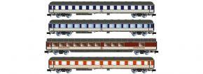 ARNOLD HN4298 4-tlg. Set Reisezugwagen Popfarben DB | Spur N kaufen