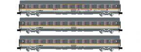 ARNOLD HN4301 3-tlg. Set Reisezugwagen 2. Kl. UIC-Z Alex | Spur N kaufen