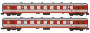 ARNOLD HN4372 2-tlg. Set Reisezugwagen Schlieren K2, rot/grau, ÖBB   Spur N kaufen