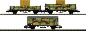 ARNOLD HN6490 Güterwagen-Set 3-tlg. Militärzug DRB   Spur N kaufen