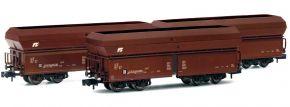 ARNOLD HN6500 3-tlg. Set Schwenkdachwagen Falns FS | Spur N kaufen
