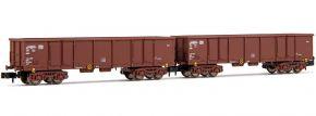ARNOLD HN6533 2-tlg. Set Offene Güterwagen Eaos mit Beladung DB | Spur N kaufen