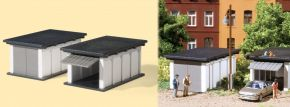 Auhagen 11420 Fertigteilgaragen 2 Stück Bausatz Spur H0 kaufen