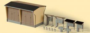Auhagen 11427 Trafostation mit Zubehör Bausatz Spur H0 kaufen