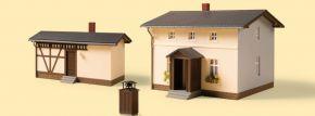 Auhagen 11457 Bahnwärterwohnhaus mit Nebengebäude Bausatz Spur H0 kaufen