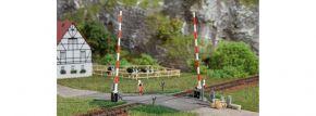 Auhagen 41604 Beschrankter Bahnübergang ohne Funkion Bausatz Spur H0 kaufen
