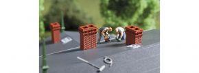 Aughagen 41627 Schornsteinsortiment 16 Stück Fertigmodelle Spur H0 kaufen
